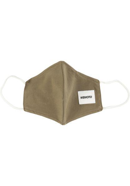 Wemoto Verschiedenes Face Mask olive vorderansicht 0972581