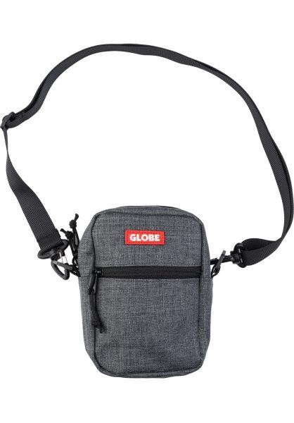 Globe Taschen Bar Sling Pack charcoal vorderansicht 0891686