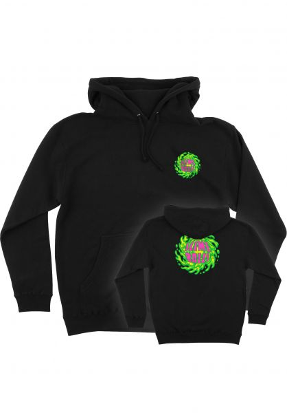 Santa-Cruz Hoodies Slime Ball Logo black vorderansicht 0445885