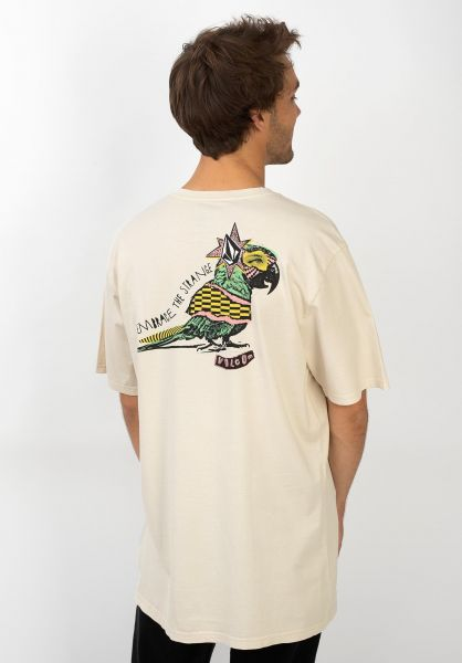 Volcom T-Shirts Party Bird whiteflash vorderansicht 0320385