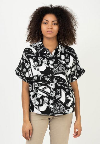 TITUS Hemden kurzarm Jane black-ao-pattern vorderansicht 0400993
