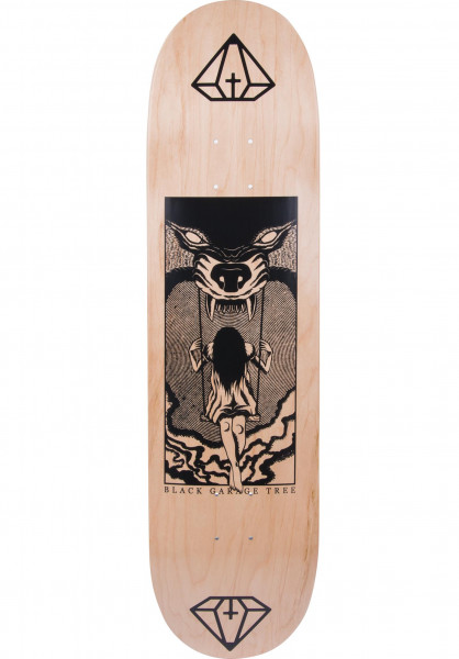 Rebel Rockers Skateboard Decks BGT Swing black-natural Vorderansicht