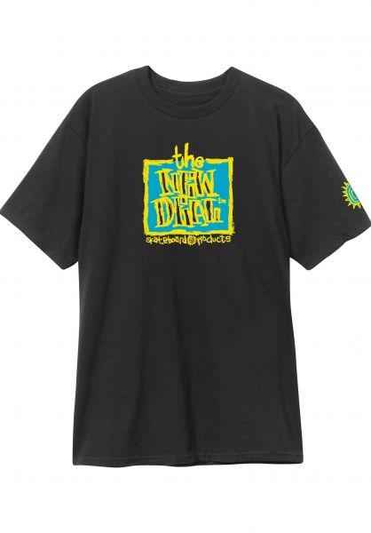 New-Deal T-Shirts Original Napkin Logo black vorderansicht 0320471