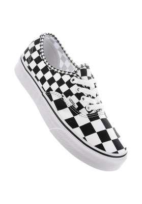 caddf71516 Authentic Classic Vans All Shoes in mixchecker-black-truewhite for Women |  Titus