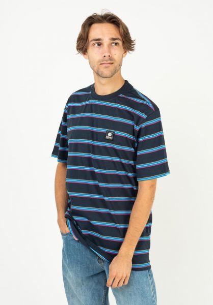 Element T-Shirts x Future Nature Bradley eclipsenavy vorderansicht 0323352