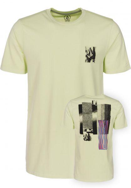 Volcom T-Shirts Lifer mistgreen Vorderansicht