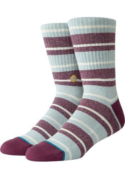 Stance Socken Cope maroon vorderansicht 0631700