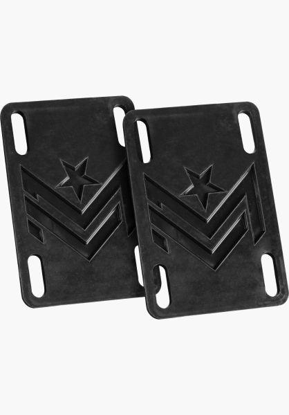 """Mini-Logo Riserpads 1/8""""-Shock Universal black vorderansicht 0197068"""