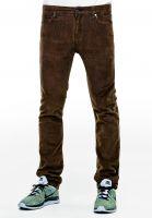Reell-Jeans-Skin-brown-corduroy-Vorderansicht
