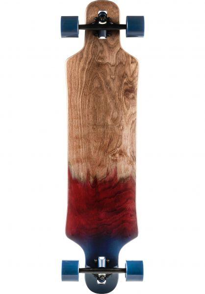 TITUS Longboards komplett Fade DT 39.8 coral-blue vorderansicht 0195755