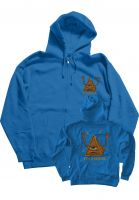 Toy-Machine Zip-Hoodies Pyramid royal-blue Vorderansicht