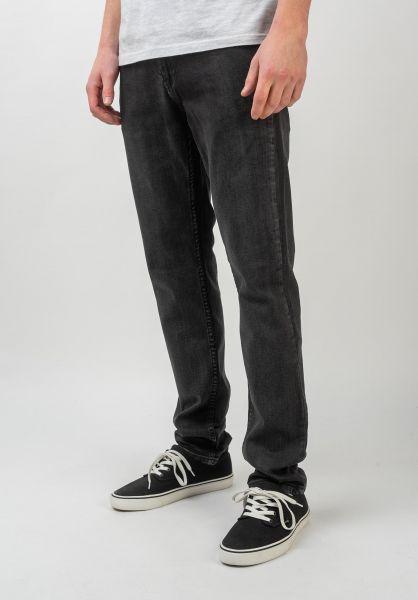 TITUS Jeans Taper Fit black-bleached vorderansicht 0540982