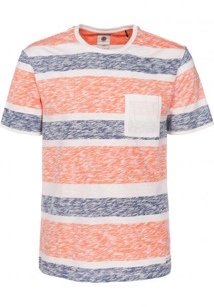 Element T-Shirts Ganty safetyorange Vorderansicht