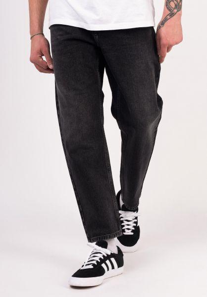 Carhartt WIP Jeans Newel Pant (Cropped) blackmidwornwash vorderansicht 0227155