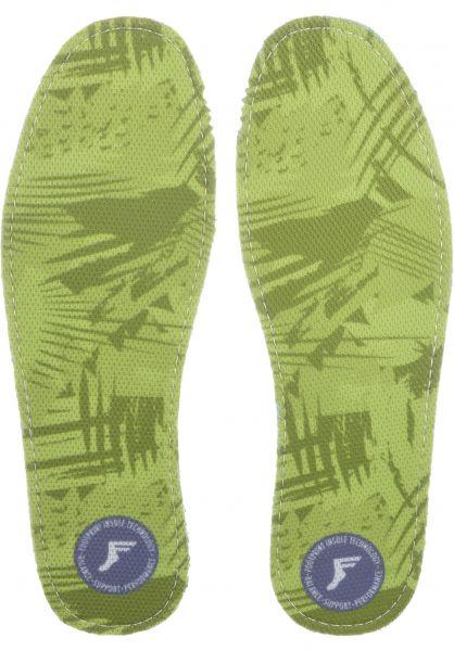 Footprint Insoles Einlegesohlen King Foam Camo Orthotics yellow vorderansicht 0249109