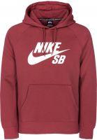 Nike SB Hoodies SB Icon cedar-white Vorderansicht