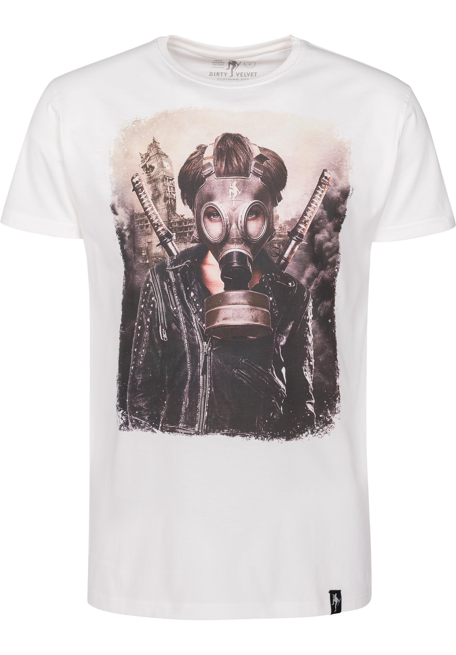 72d1eb8c00 Brave New World Dirty Velvet T-Shirts in vintagewhite for Men