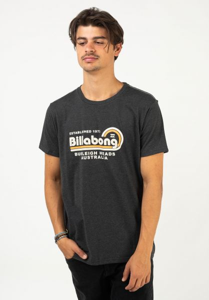 Billabong T-Shirts Repair black vorderansicht 0322647