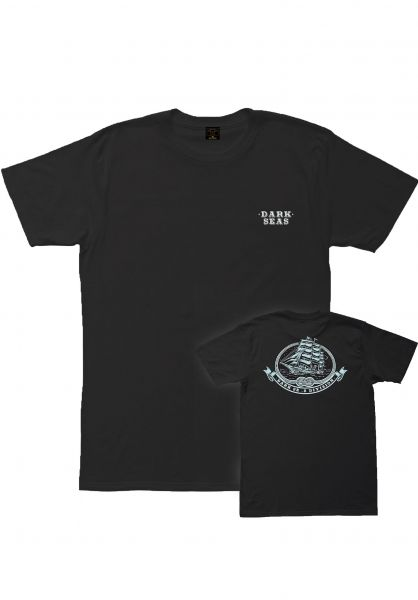 Dark Seas T-Shirts Sacred Craft black vorderansicht 0399042