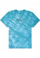 HUF T-Shirts Poolside Tiedye mint Vorderansicht
