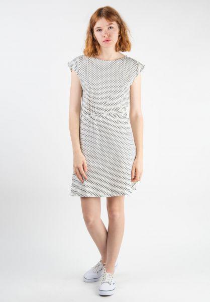 Forvert Kleider Lea beige-dots vorderansicht 0801473