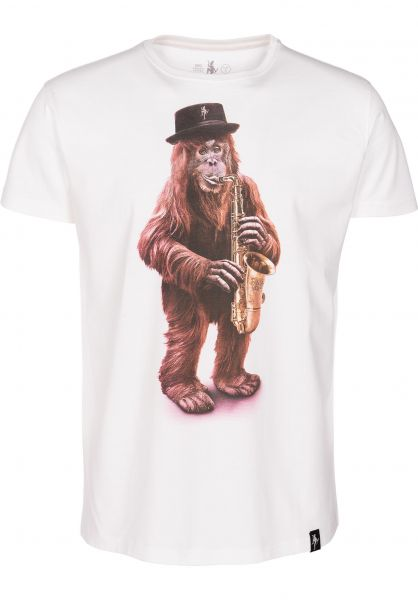 Dirty Velvet T-Shirts King Of The Swingers vintagewhite vorderansicht 0396996