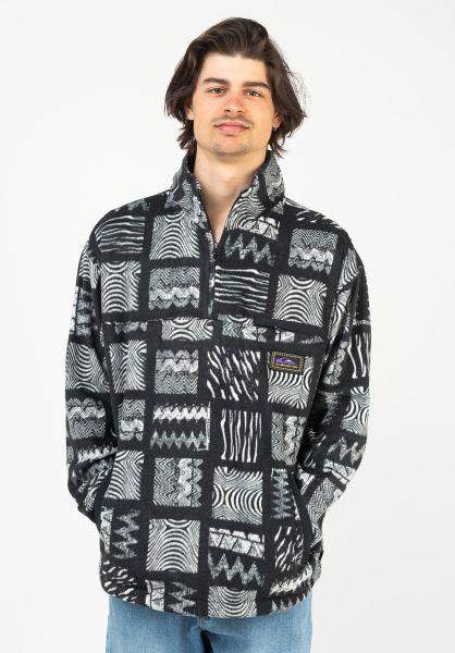 Quiksilver Sweatshirts und Pullover OG Tribal Mosaic Polar black-tribal-mosaic vorderansicht 0423107