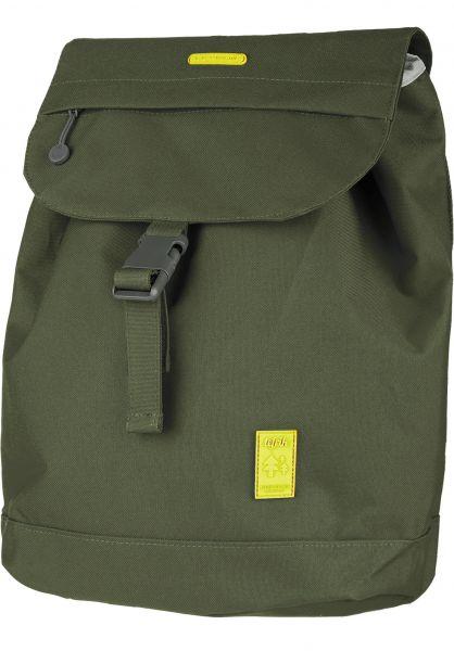 Lefrik Rucksäcke Scout Backpack Small olive vorderansicht 0880952