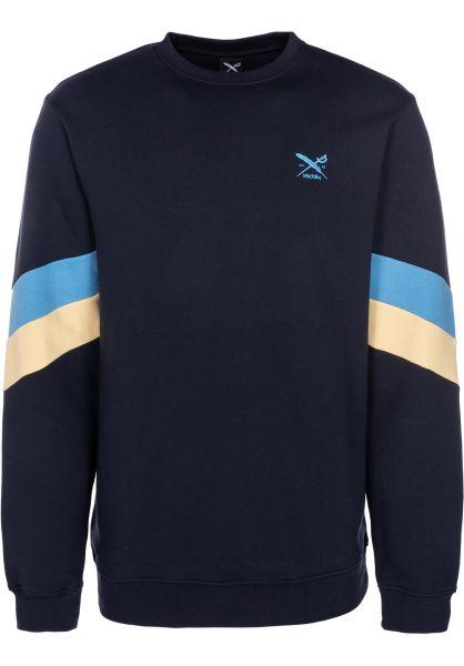 iriedaily Sweatshirts und Pullover Prime Crew navy vorderansicht 0422658