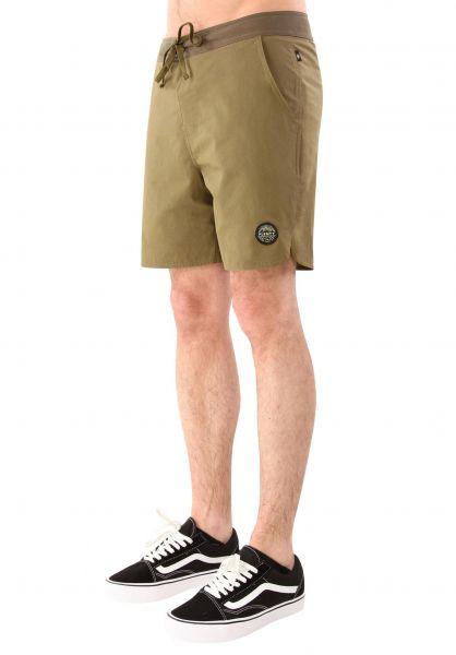 plenty Shorts Nathan Short army Vorderansicht