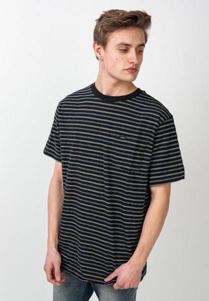 RVCA T-Shirts Runaway black vorderansicht 0321845