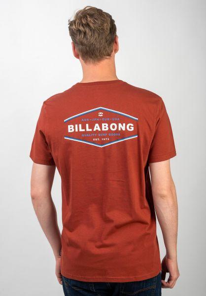 Billabong T-Shirts Vista sangria vorderansicht 0320677