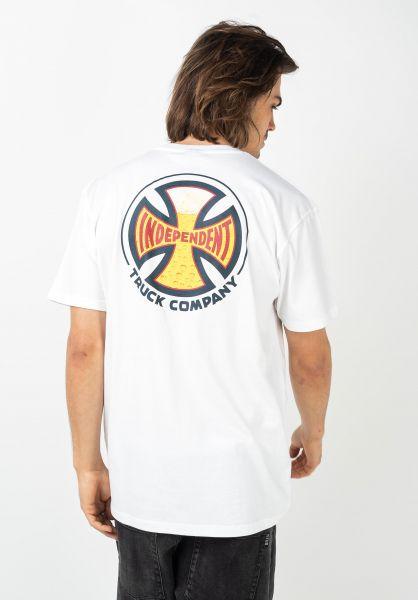 Independent T-Shirts Suds white vorderansicht 0321745