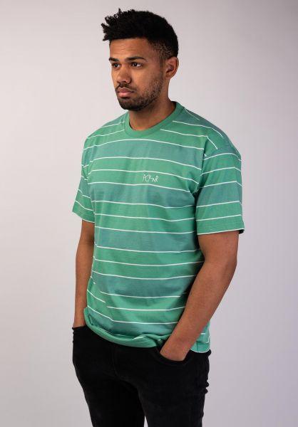 Polar Skate Co T-Shirts Dane peppermint vorderansicht 0396427
