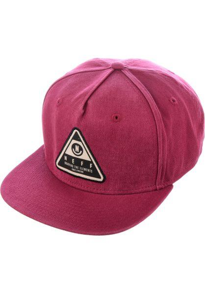 Neff Caps X Wash maroon vorderansicht 0566090