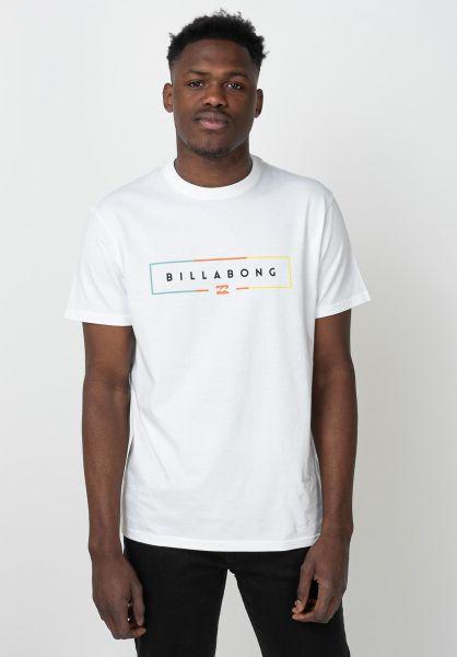 Billabong T-Shirts Unity white vorderansicht 0398778