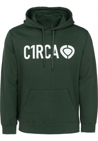C1RCA Hoodies Din Icon forrestgreen Vorderansicht