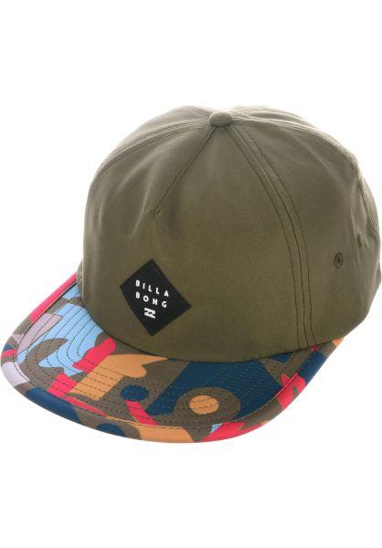 Billabong Caps Jetty olive vorderansicht 0566278