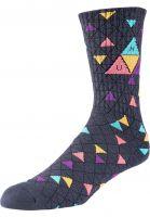 huf-socken-triple-triange-pattern-charcoal-vorderansicht-0632249