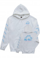Dark Seas Hoodies Dino's Dive Women white Vorderansicht