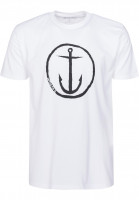 Captain-Fin-T-Shirts-Original-Anchor-white-black-Vorderansicht