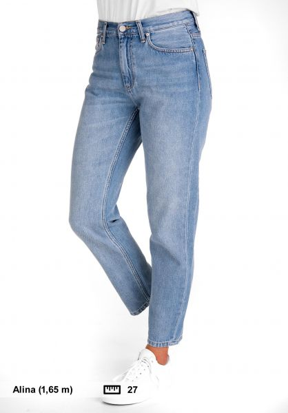 ffc19061 Carhartt WIP Jeans W' Page Carrot Ankle blue-lightstonewashed Vorderansicht