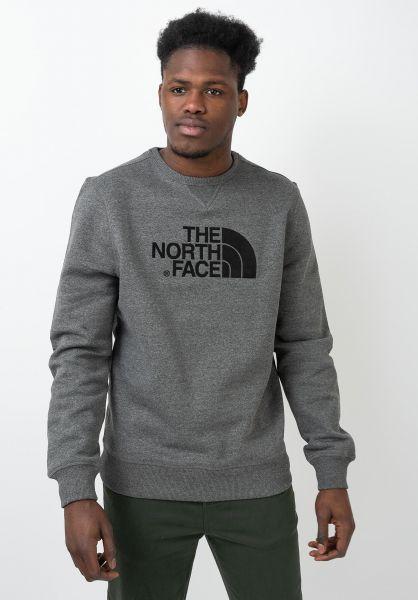 The North Face Sweatshirts und Pullover Drew Peak Crew tnfmediumgreyheather vorderansicht 0422885