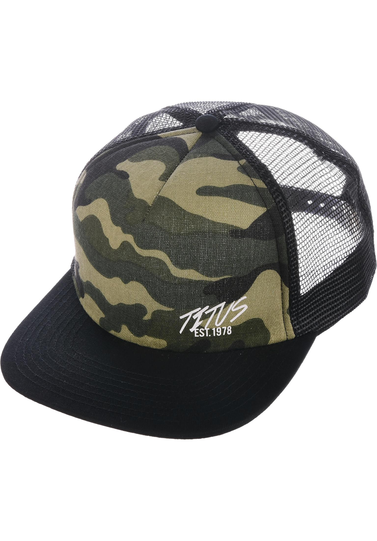 Flash mini mesh titus caps in black camouflage black herren titus jpg  1535x2203 Mini caps 64016c44496b