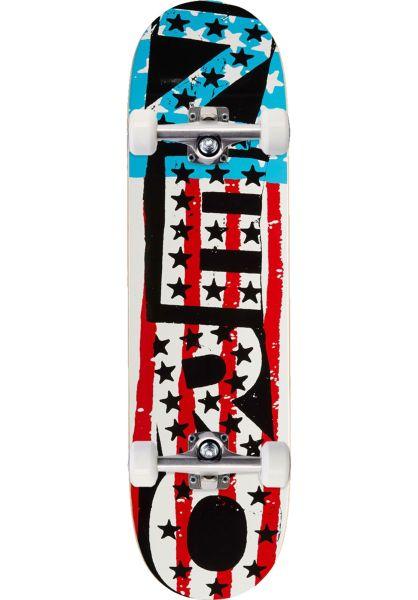 Zero Skateboard komplett American Punk multicolored vorderansicht 0162598