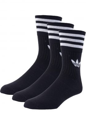 adidas Solid Crew 3 Pack