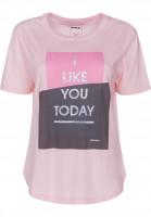 Bench T-Shirts Graphic Print chalkpink Vorderansicht