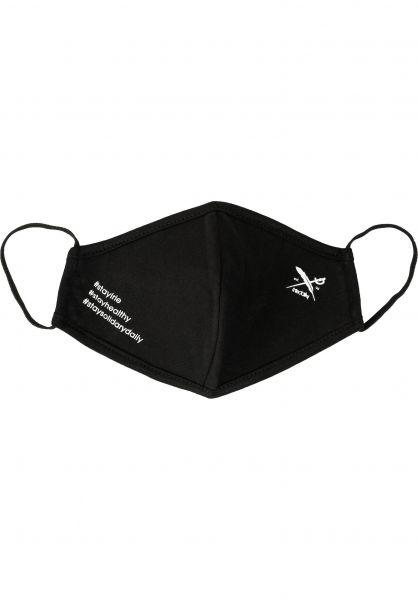 iriedaily Verschiedenes Mini Flag Mask black vorderansicht 0972578