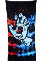 santa-cruz-verschiedenes-screaming-hand-towel-black-tiedye-vorderansicht-0971775