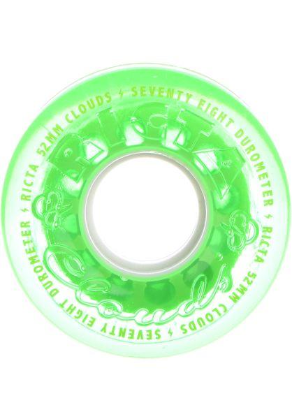 Ricta Rollen Crystal Clouds 78A green vorderansicht 0134345